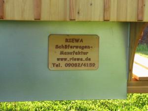 Heidewagen Schild