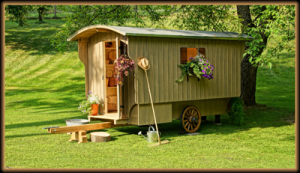 Gartenwagen Fichte